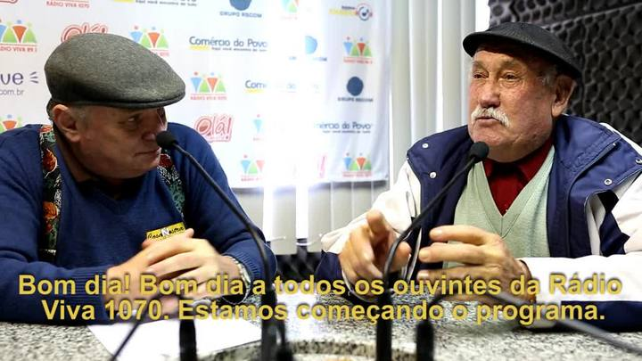 Rádios gaúchas comentam a Copa nos dialetos vêneto e sapato-de-pau