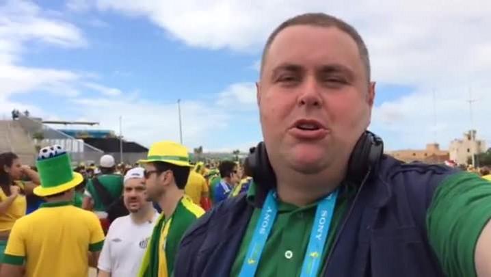 Gigante na Copa: torcedores opinam sobre Brasil x México