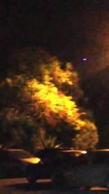 Soldado filma objeto misterioso no céu de Joinville