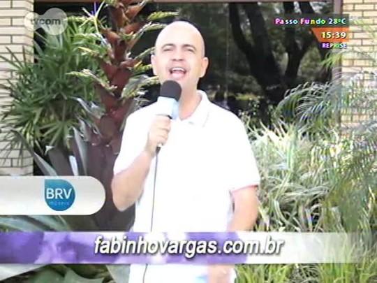 Na Fé - Clipes de música gospel e bate-papo com a cantora Cantora Cristiane Ferr - 30/11/2014 - bloco 3