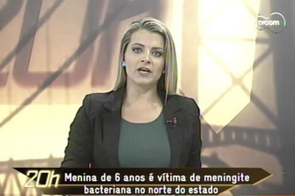 TVCOM 20h - Menina de 6 anos morre de meningite bacteriana em Jaraguá do Sul - 12.12.14