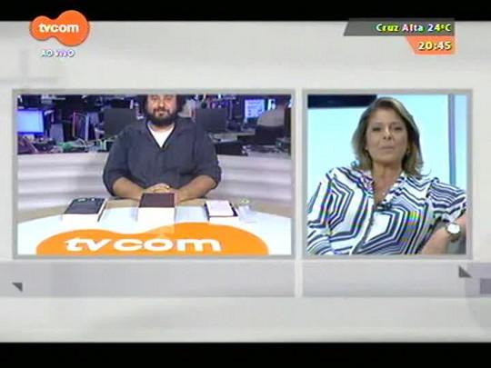 TVCOM Tudo mais - A repercussão do atentado em Paris com o jornalista Carlos André Moreira e a estudante Dialla Dorneles - 07/01/2015