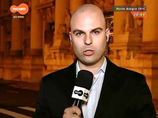TVCOM 20 Horas - Piratini coloca em dia o pagamento do funcionalismo e cancela parcela da dívida com a União - 11/08/2015