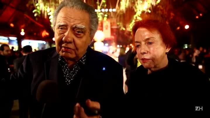 Luiz Carlos e Lucy Barreto avaliam os homenageados
