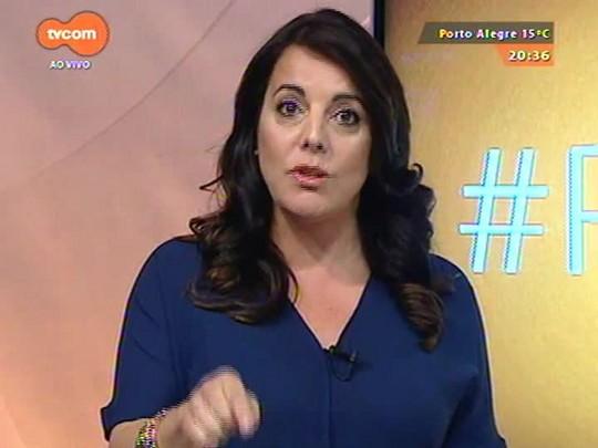 #PortoA - Cláudia Laitano fala sobre o show \'Dois amigos\', de Gilberto Gil e Caitano Veloso