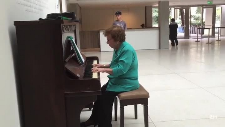 A pianista da Santa Casa