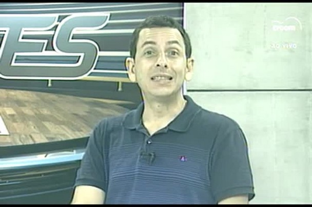 TVCOM Esportes. 2º Bloco. 13.01.16