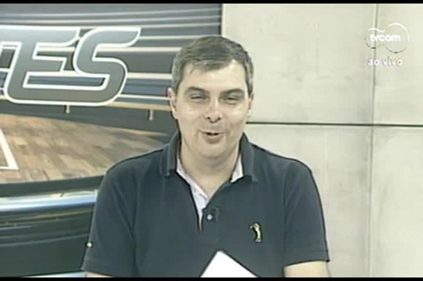 TVCOM Esportes. 3º Bloco. 19.04.16