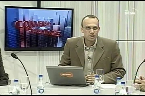 TVCOM. Conversas Cruzadas. 2º Bloco. 08.06.16
