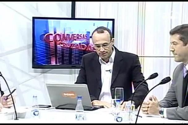 TVCOM Conversas Cruzadas. 4º Bloco. 16.06.16