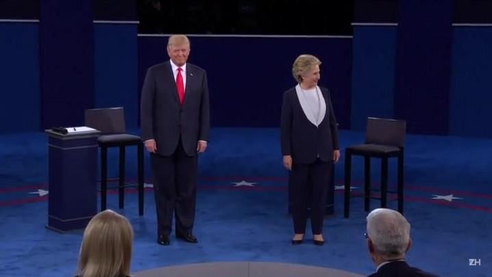 O segundo debate presidencial americano