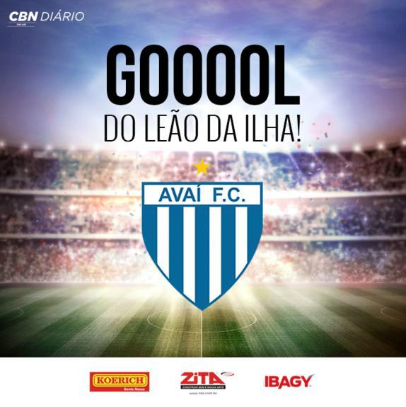 1º gol Marquinhos Avaí x Náutico 12/11/2016