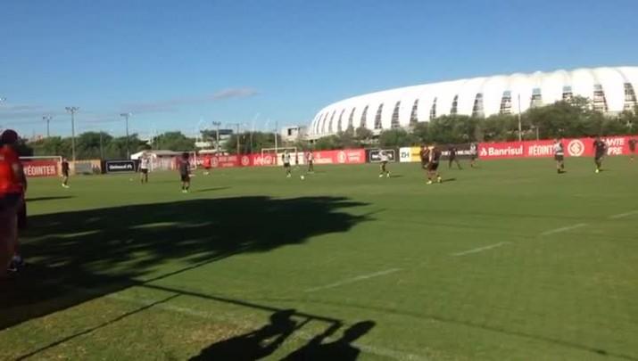 Inter treina sem Ceará