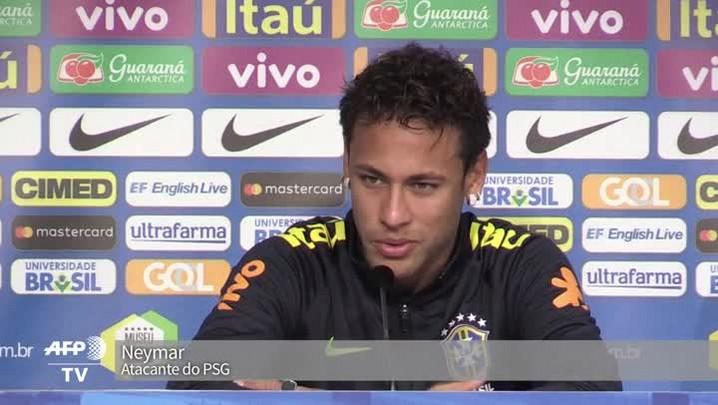Neymar desabafa