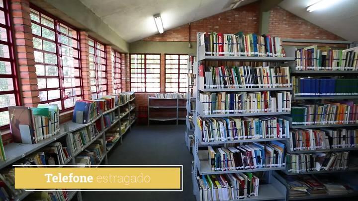 Biblioteca do IAPI sofre com descaso