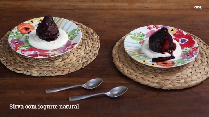 Três receitas com suco de uva