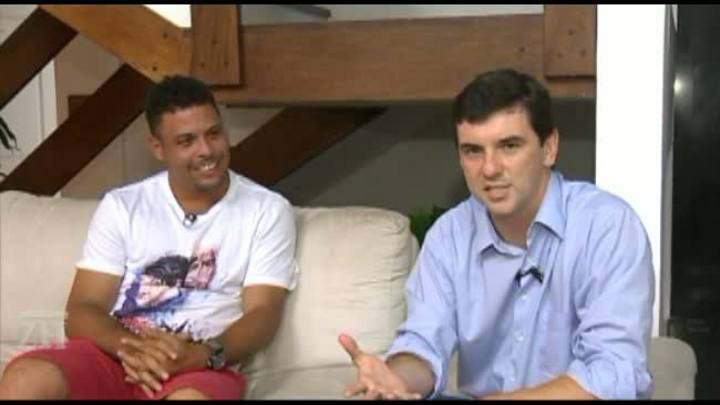 Ronaldo Fenômeno fala com exclusividade a RBS