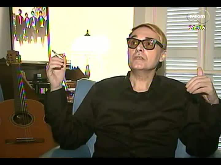 TVCOM Tudo Mais - Depoimentos de fãs ilustres para homenagear o beatle George Harrison - Júpiter Maçã