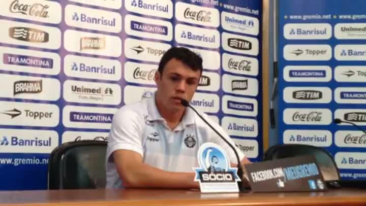 Recuperado das lesões, Kléber fala de seu retorno ao time do Grêmio