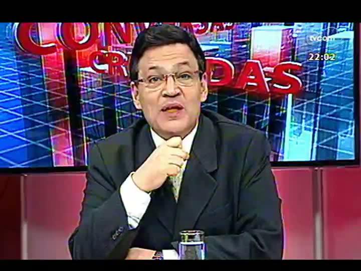 Conversas Cruzadas - Debate sobre o TSE ter alterado número de deputados federais de 13 Estados - Bloco 1 - 10/04/2013