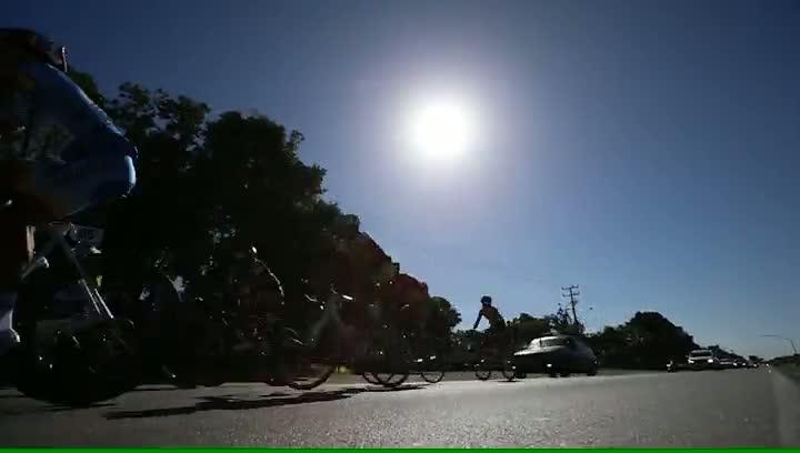 Competição ciclística Tour de SC começou por São Francisco do Sul no norte do estado