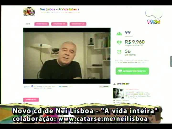 Programa do Roger - Conheça o projeto para novo disco de Nei Lisboa - bloco 4 - 10/05/2013