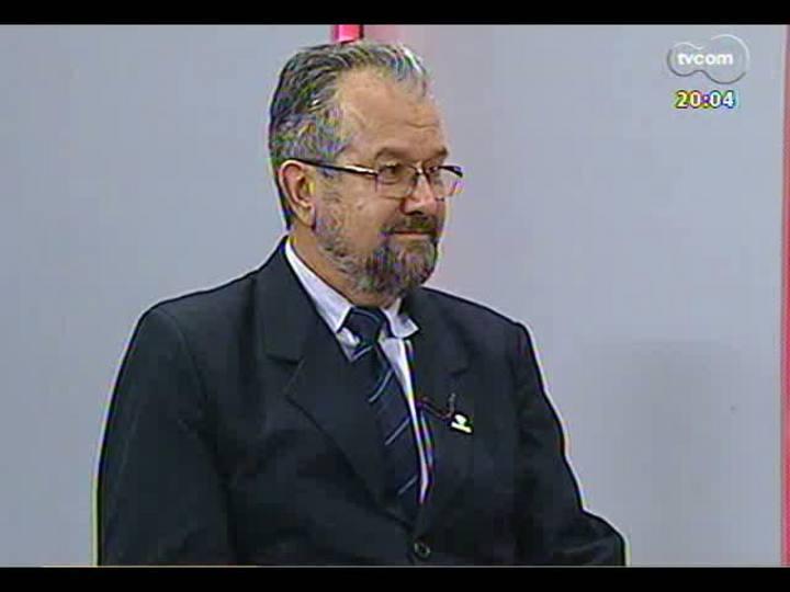 TVCOM 20 Horas - Entrevista com o novo secretário municipal do Meio Ambiente - Bloco 1 - 28/05/2013