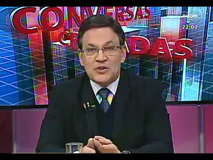 Conversas Cruzadas - Político e professor debatem a necessidade de um plebiscito para reforma política - Bloco 1 - 02/07/2013