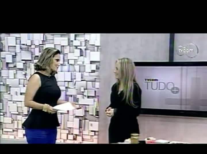 TVCOM Tudo Mais - Nutricionista Ana Carolina Abreu - 2º Bloco – 13-08-2013