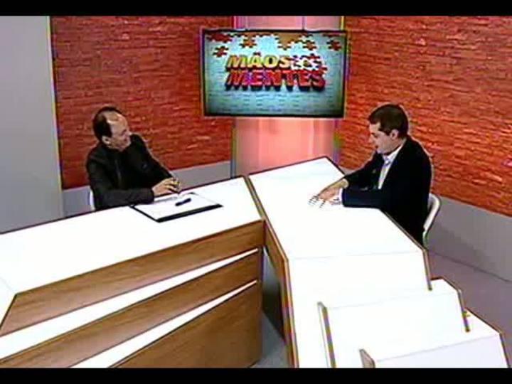 Mãos e Mentes - Secretário extraordinário da Copa em Porto Alegre, João Bosco Vaz - Bloco 1 - 21/08/2013