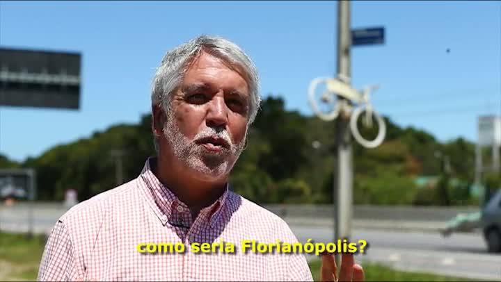 Enrique Peñalosa fala sobre mobilidade urbana na Capital de SC