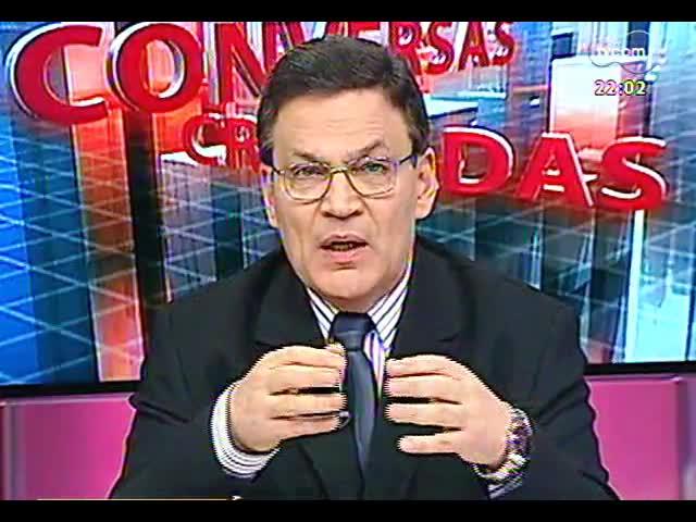 Conversas Cruzadas - Metrô de Porto Alegre é anunciado mais uma vez: será que agora vai? - Bloco 1 - 10/10/2013