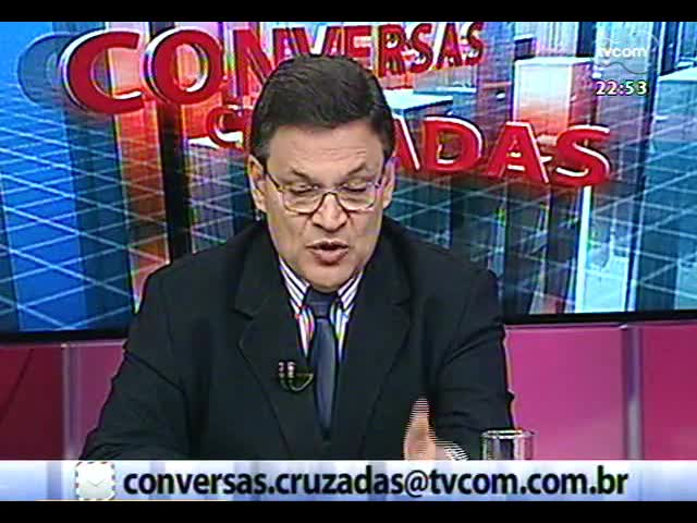 Conversas Cruzadas - Metrô de Porto Alegre é anunciado mais uma vez: será que agora vai? - Bloco 3 - 10/10/2013
