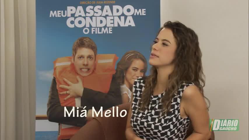 Humorista Miá Mello conta como foi filmar em um cruzeiro comercial