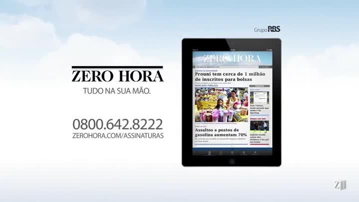 Leia na Zero Hora desta terça-feira (26//11/2013)