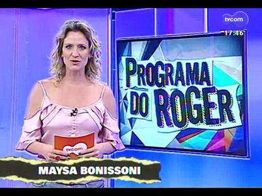 Programa do Roger - Músicos Panta e Veco Marques falam do projeto \'Sonhos de uma noite de verão\' - Bloco 1 - 08/01/2014