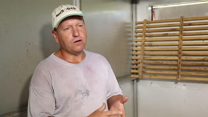 Produtor mostra como adaptar estufa para secar e armazenar grãos