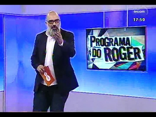 Programa do Roger - Cantora Bibiana - Bloco 1 - 21/04/2014
