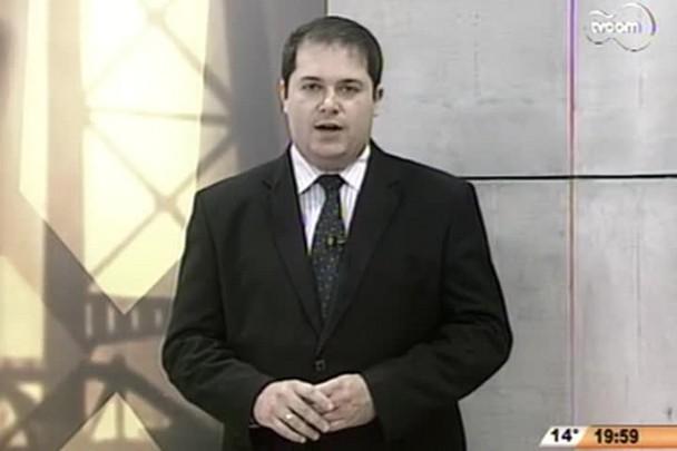 TVCOM 20 Horas - SC é o sexto estado com pior coleta de esgoto do país - 1º Bloco - 28/08/14