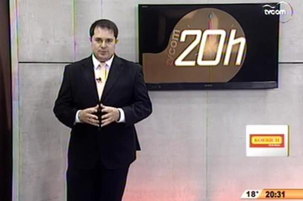 TVCOM 20 Horas - Eleições na TVCOM - 3º Bloco - 03/10/14