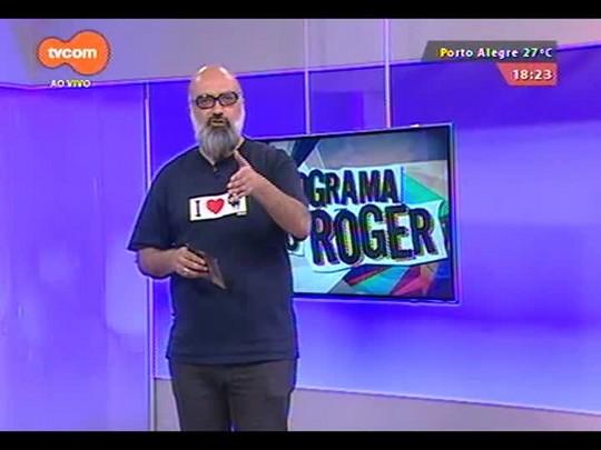 Programa do Roger - Cachorro Grande - Bloco 4 - 08/10/2014