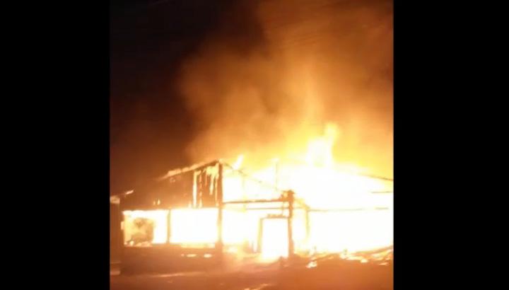 Incêndio destrói churrascaria em Gramado