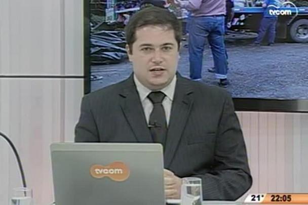 Conversas Cruzadas - Investigação do acidente na Serra Dona Francisca conclui imprudência do motorista - 1º Bloco - 15.05.15
