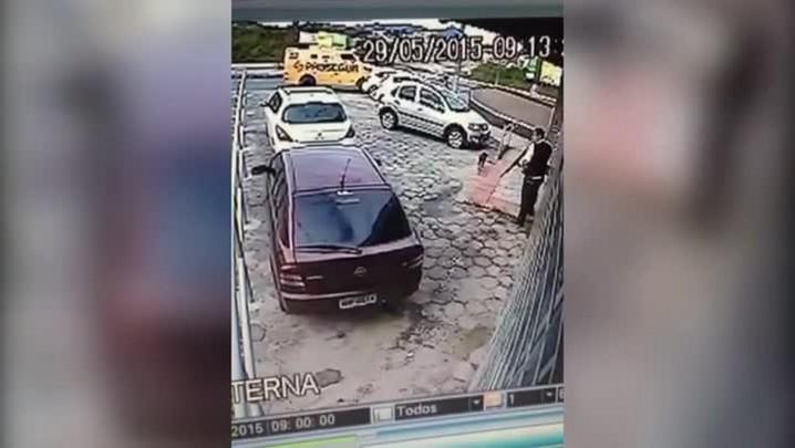 Homens armados assaltam agência do Banco do Brasil no Saco dos Limões, em Florianópolis