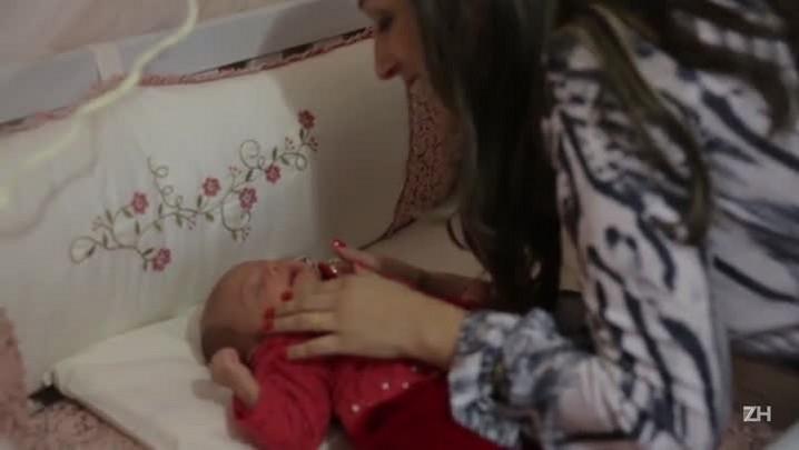Depois da endometriose, Gislaine conseguiu realizar o sonho de ser mãe