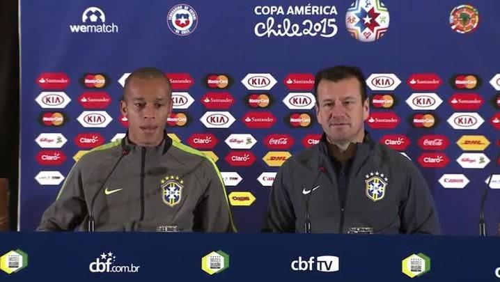 Dunga fala sobre a suspensão de Neymar