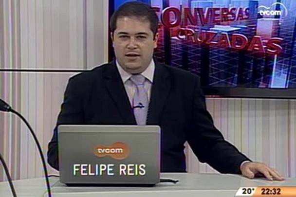 Conversas Cruzadas - Entrevista de avaliação do início do 2º mandato de Raimundo Colombo - 2º Bloco - 30.06.15