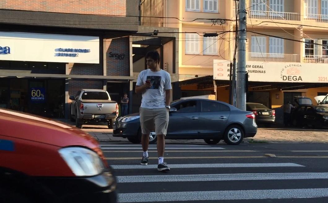 Como se o pedestre não existisse