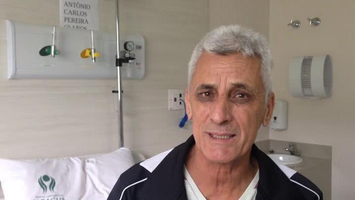 Confira o depoimento do primeiro paciente submetido à angioplastia em Jaraguá do Sul