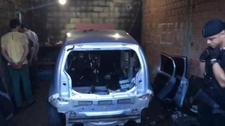 Veja imagens da Operação que desarticulou quadrilha que roubava carros na Capital
